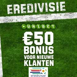 €50 Sport Bonus bij Unibet